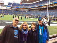 Seahawks - Panthers game